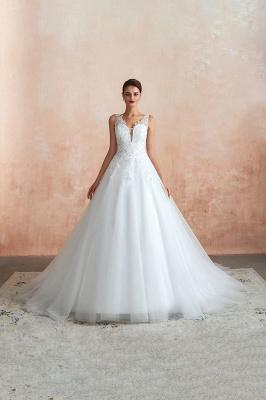 Sexy Brautkleid A Linie   Hochzeitskleider Standesamt_1