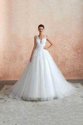 Sexy Brautkleid A Linie   Hochzeitskleider Standesamt_9