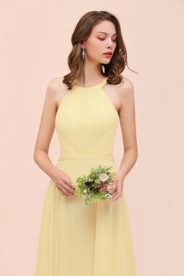 Schöne Brautjungfernkleider Günstig | Chiffon Kleider Lang_8