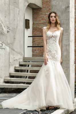 Elegante Hochzeitskleider Standesamt | Brautkleid Meerjungfrau_10