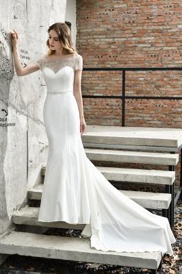 Designer Brautkleid mit Ärmel   Hochzeitskleider Meerjungfrau_4