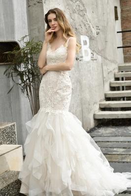 Brautkleider Meerjungfreu   Hochzeitskleid mit Spitze_13