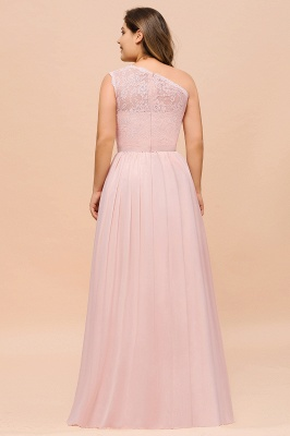 Rosa Brautjungfernkleider Günstig | Chiffon Hochzeitspartykleider_3