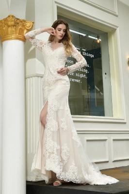Elegante Brautkleid Meerjungfrau | Hochzeitskleider Mit Ärmel_8