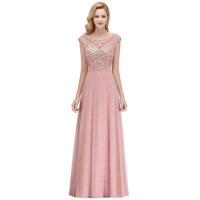 Abendkleider Lang Rosa | Abendmoden Online_1