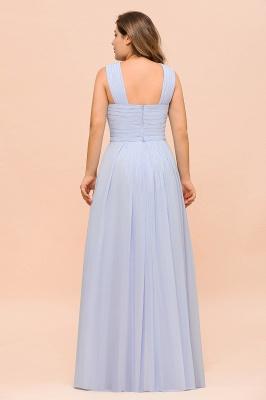 Abendkleider Große Größen | Brautjungfernkleider Lang Lilac_3