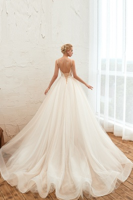 Elegante Hochzeitskleid A Linie   Standesamt Brautkleid_15