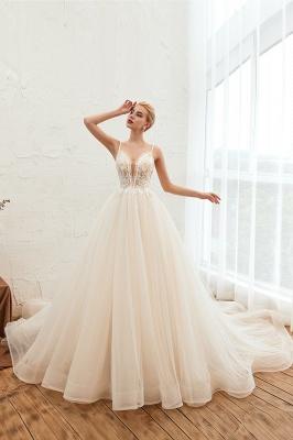 Elegante Hochzeitskleid A Linie   Standesamt Brautkleid_6