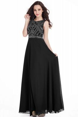 Schwarze Abendkleider Günstig   Abiballkleider Lang Online_4
