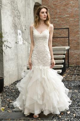 Brautkleider Meerjungfreu   Hochzeitskleid mit Spitze_7