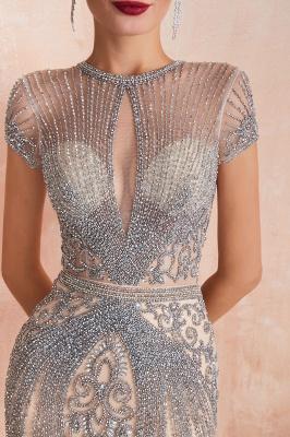 Fashion Abendkleider Lang Schwarz   Abiballkleider Glitzer_13