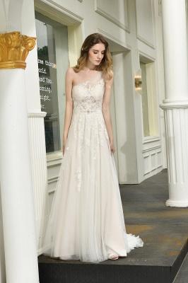 Brautmode sSchlicht Elegant | Hochzeitskleid Standesamt_7