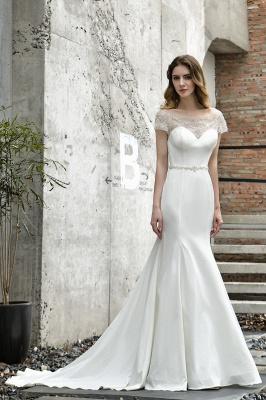 Designer Brautkleid mit Ärmel   Hochzeitskleider Meerjungfrau_2