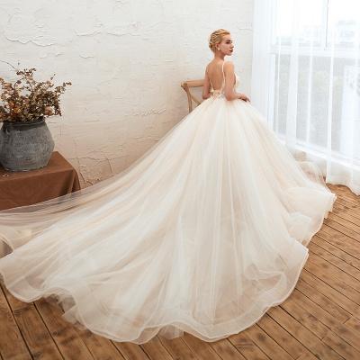 Elegante Hochzeitskleid A Linie   Standesamt Brautkleid_7