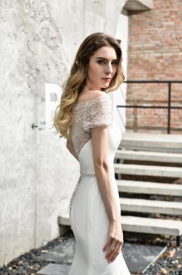Designer Brautkleid mit Ärmel   Hochzeitskleider Meerjungfrau_12