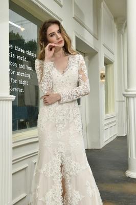Elegante Brautkleid Meerjungfrau | Hochzeitskleider Mit Ärmel_11