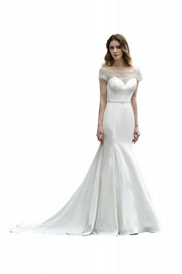 Designer Brautkleid mit Ärmel   Hochzeitskleider Meerjungfrau_1