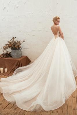 Elegante Hochzeitskleid A Linie   Standesamt Brautkleid_14