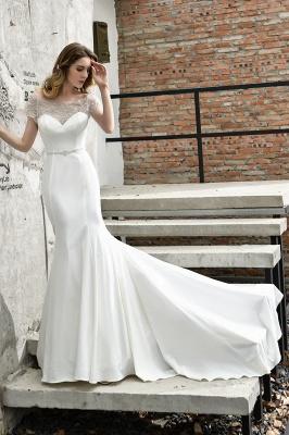 Designer Brautkleid mit Ärmel   Hochzeitskleider Meerjungfrau_6