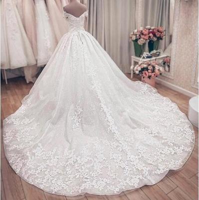 Hochzeitskleider Prinzessin Luxus   Brautkleid Spitze_5