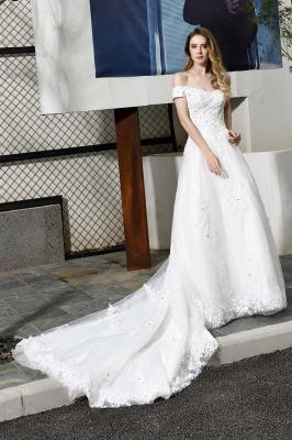 Schlichte Brautkleid A Linie   hochzeitskleider standesamt_7