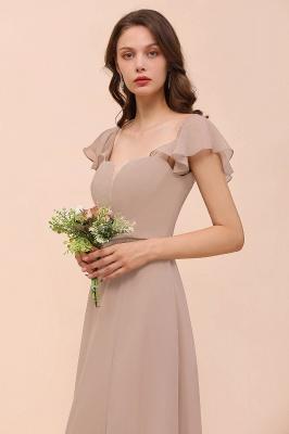 Champagne Brautjungfernkleider Lang Günstig | Abendoden Online_6