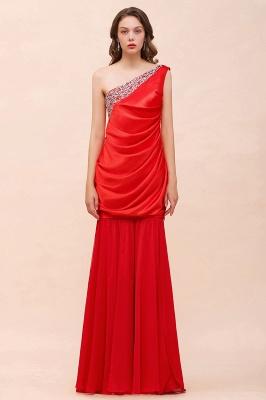 Rote Brautjungfernkleider Lang | Kleider für Brautjungfern_1