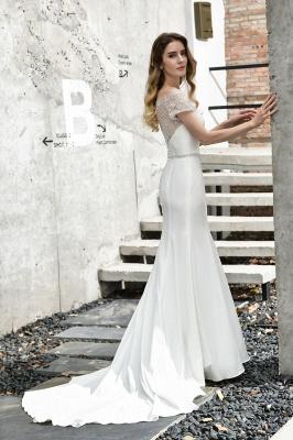 Designer Brautkleid mit Ärmel   Hochzeitskleider Meerjungfrau_13