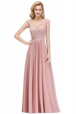 Rosa Abendkleider Mit Spitze   Abiballkleider Alterrosa_1