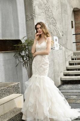 Hochzeitskleid Meerjungfrau Spitze   Brautkleider Günstig Online_8