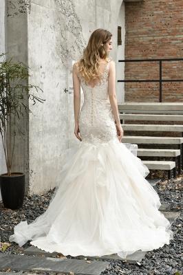 Hochzeitskleid Meerjungfrau Spitze   Brautkleider Günstig Online_3