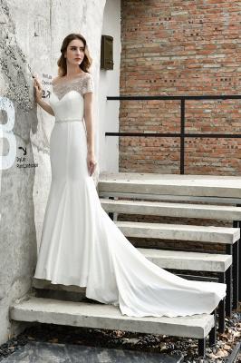 Designer Brautkleid mit Ärmel   Hochzeitskleider Meerjungfrau_7