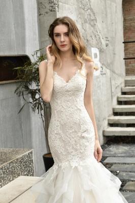 Hochzeitskleid Meerjungfrau Spitze   Brautkleider Günstig Online_5