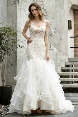 Kleid Standesamt   Brautkleid Meerjungfrau mit Spitze_2