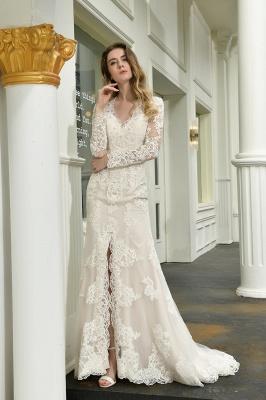 Elegante Brautkleid Meerjungfrau | Hochzeitskleider Mit Ärmel_10