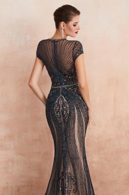 Fashion Abendkleider Lang Schwarz   Abiballkleider Glitzer_19