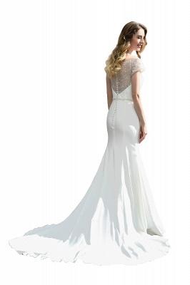 Designer Brautkleid mit Ärmel   Hochzeitskleider Meerjungfrau_9