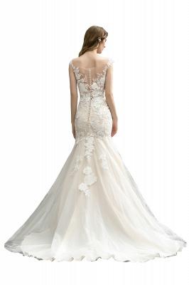 Elegante Hochzeitskleider Standesamt | Brautkleid Meerjungfrau_9