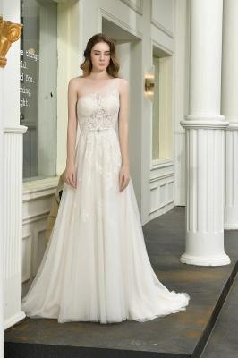 Brautmode sSchlicht Elegant | Hochzeitskleid Standesamt_10