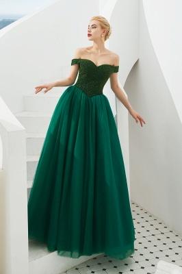 Abendkleider Dunkel Grün | Abiballkleider Lang Günstig_7