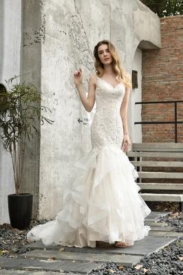 Hochzeitskleid Meerjungfrau Spitze   Brautkleider Günstig Online_6