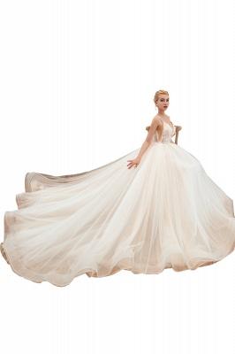 Elegante Hochzeitskleid A Linie   Standesamt Brautkleid_23