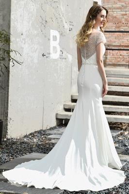 Designer Brautkleid mit Ärmel   Hochzeitskleider Meerjungfrau_11