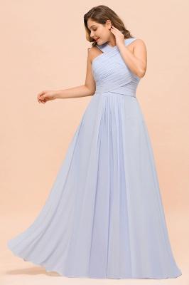 Abendkleider Große Größen | Brautjungfernkleider Lang Lilac_6