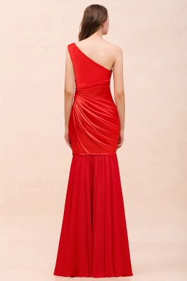 Rote Brautjungfernkleider Lang | Kleider für Brautjungfern_5
