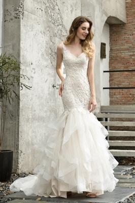 Brautkleider Meerjungfreu   Hochzeitskleid mit Spitze_2