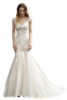 Elegante Hochzeitskleider Standesamt | Brautkleid Meerjungfrau_5
