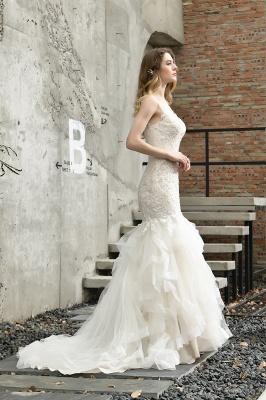 Hochzeitskleid Meerjungfrau Spitze   Brautkleider Günstig Online_11