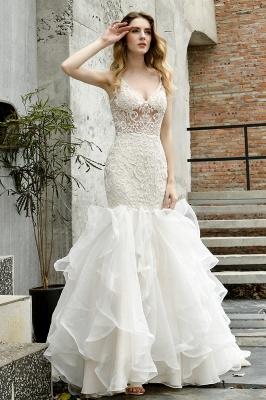 Kleid Standesamt   Brautkleid Meerjungfrau mit Spitze_13