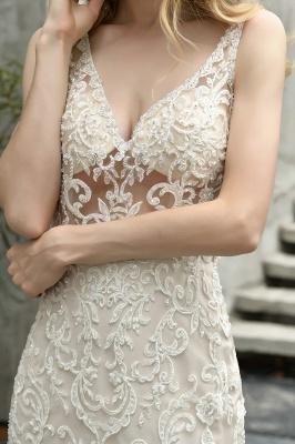 Kleid Standesamt   Brautkleid Meerjungfrau mit Spitze_8